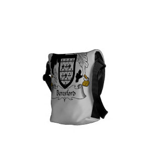 Escudo de la familia de Beresford Bolsas Messenger