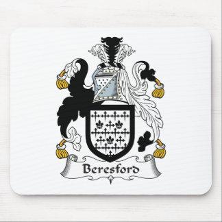 Escudo de la familia de Beresford Tapetes De Raton
