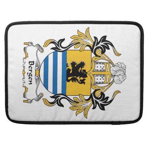 Escudo de la familia de Bergen Funda Macbook Pro