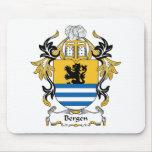 Escudo de la familia de Bergen Tapete De Ratones