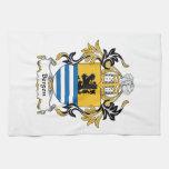 Escudo de la familia de Bergen Toalla