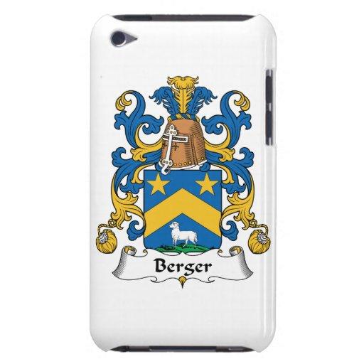 Escudo de la familia de Berger Barely There iPod Coberturas
