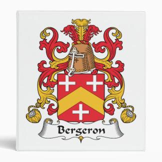 "Escudo de la familia de Bergeron Carpeta 1"""