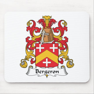 Escudo de la familia de Bergeron Tapetes De Raton