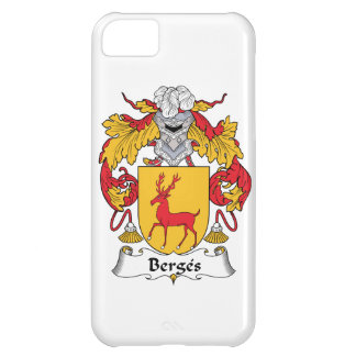 Escudo de la familia de Berges Funda Para iPhone 5C