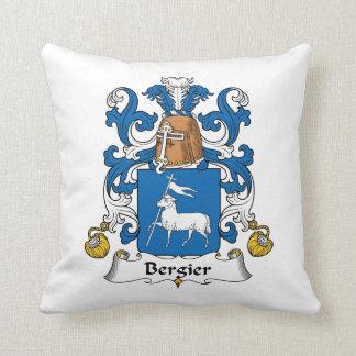 Escudo de la familia de Bergier Almohadas