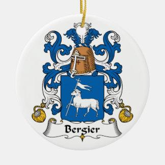Escudo de la familia de Bergier Adornos