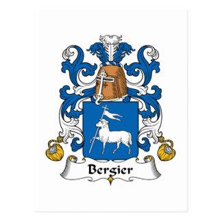 Escudo de la familia de Bergier Postales