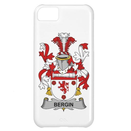 Escudo de la familia de Bergin Funda Para iPhone 5C