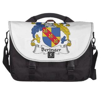Escudo de la familia de Beringer Bolsas Para Portátil