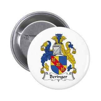 Escudo de la familia de Beringer Pins