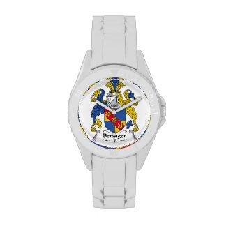 Escudo de la familia de Beringer Relojes De Pulsera