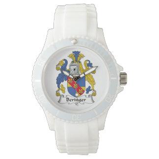 Escudo de la familia de Beringer Reloj De Mano