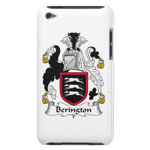 Escudo de la familia de Berington Barely There iPod Carcasas