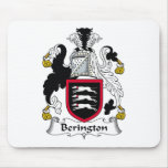 Escudo de la familia de Berington Alfombrilla De Raton
