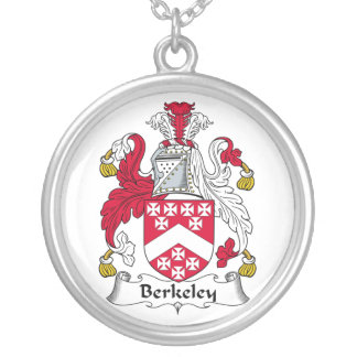 Escudo de la familia de Berkeley Colgante Redondo