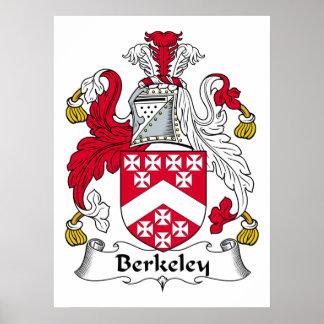 Escudo de la familia de Berkeley Póster