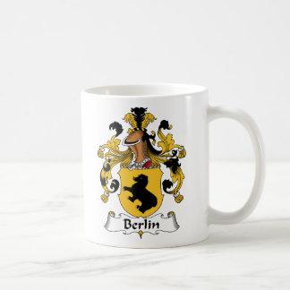 Escudo de la familia de Berlín Taza Clásica