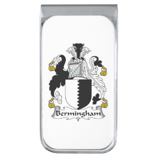 Escudo de la familia de Bermingham Clip Para Billetes Plateado