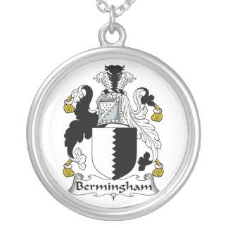 Escudo de la familia de Bermingham Colgante Redondo