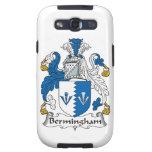 Escudo de la familia de Bermingham Samsung Galaxy S3 Cárcasa