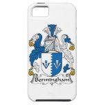 Escudo de la familia de Bermingham iPhone 5 Cárcasas