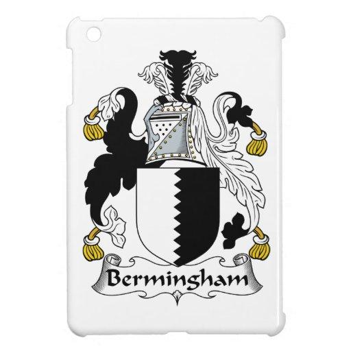 Escudo de la familia de Bermingham iPad Mini Cárcasa