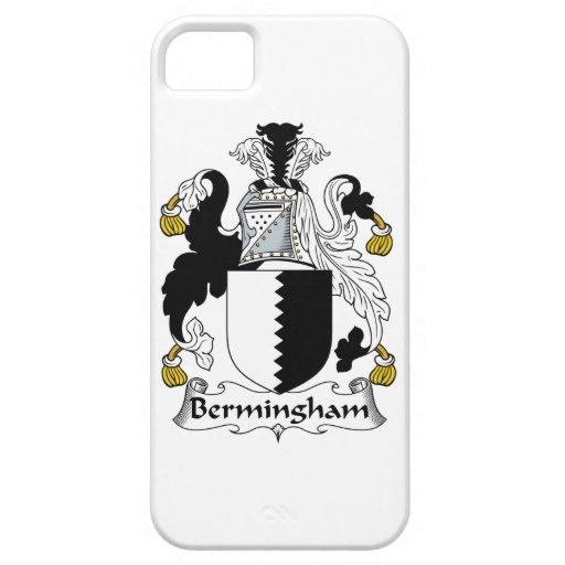 Escudo de la familia de Bermingham iPhone 5 Funda