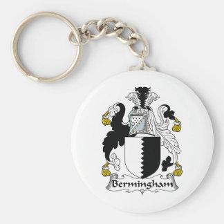 Escudo de la familia de Bermingham Llavero Personalizado
