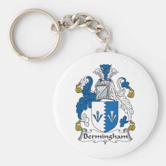 Escudo de la familia de Bermingham Llaveros Personalizados