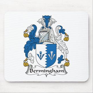 Escudo de la familia de Bermingham Tapetes De Raton