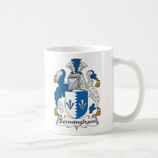 Escudo de la familia de Bermingham Tazas De Café