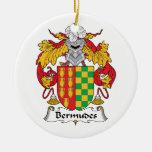 Escudo de la familia de Bermudes Ornamente De Reyes