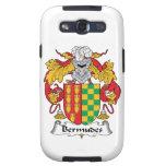 Escudo de la familia de Bermudes Galaxy S3 Funda
