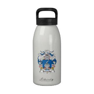 Escudo de la familia de Bernabe Botellas De Beber