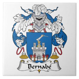 Escudo de la familia de Bernabe Azulejo