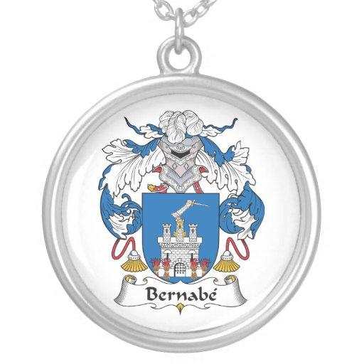 Escudo de la familia de Bernabe Grimpolas Personalizadas