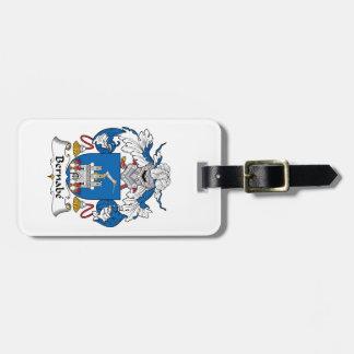 Escudo de la familia de Bernabe Etiquetas De Equipaje