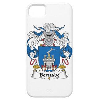 Escudo de la familia de Bernabe iPhone 5 Case-Mate Coberturas