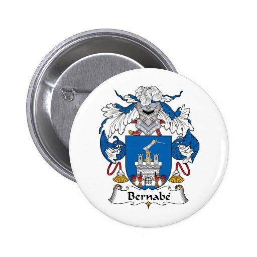 Escudo de la familia de Bernabe Pins