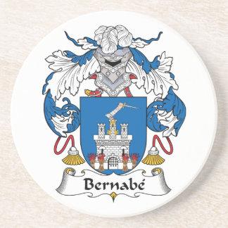 Escudo de la familia de Bernabe Posavaso Para Bebida