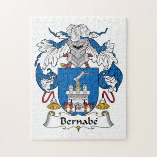 Escudo de la familia de Bernabe Puzzles Con Fotos