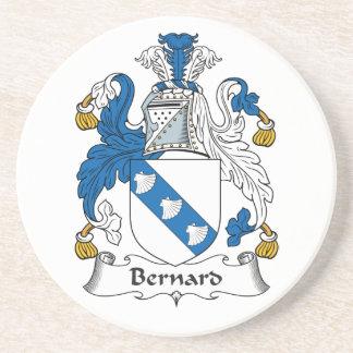 Escudo de la familia de Bernard Posavasos Personalizados