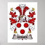 Escudo de la familia de Berner Impresiones