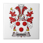 Escudo de la familia de Berner Tejas Cerámicas