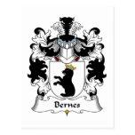Escudo de la familia de Bernes Postal