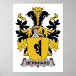 Escudo de la familia de Bernhard Impresiones
