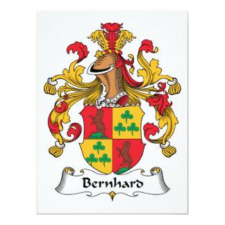 Escudo de la familia de Bernhard Anuncio
