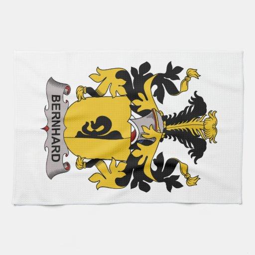 Escudo de la familia de Bernhard Toallas