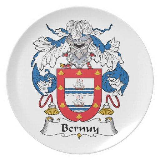 Escudo de la familia de Bernuy Plato
